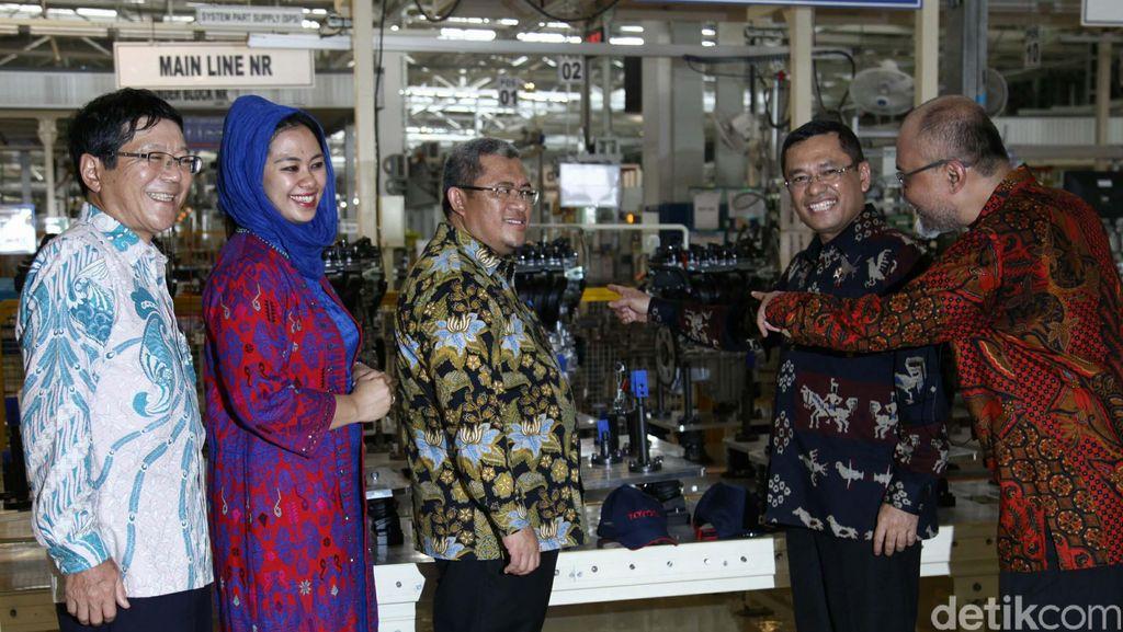 Toyota Resmikan Pabrik Baru di Karawang