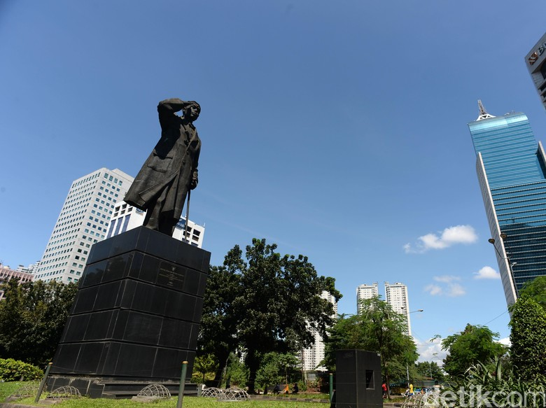 Konservasi Patung Sudirman Ditargetkan Rampung Minggu Ini