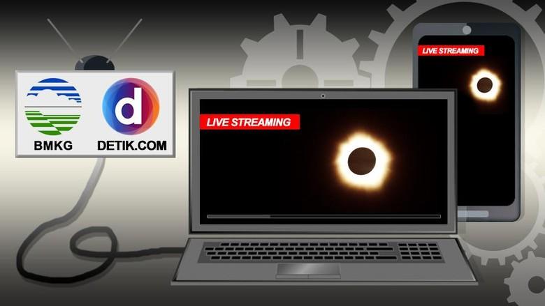 BMKG Siap Live Streaming Gerhana Matahari Dari 19 Kota
