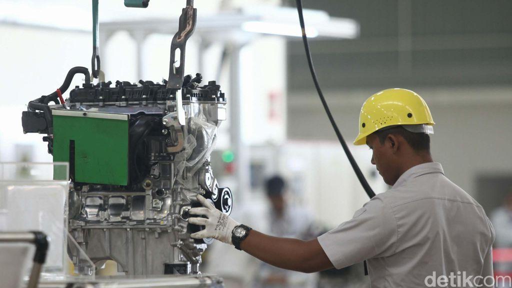Listrik Mati, Sempat Ganggu Produksi Mobil Toyota