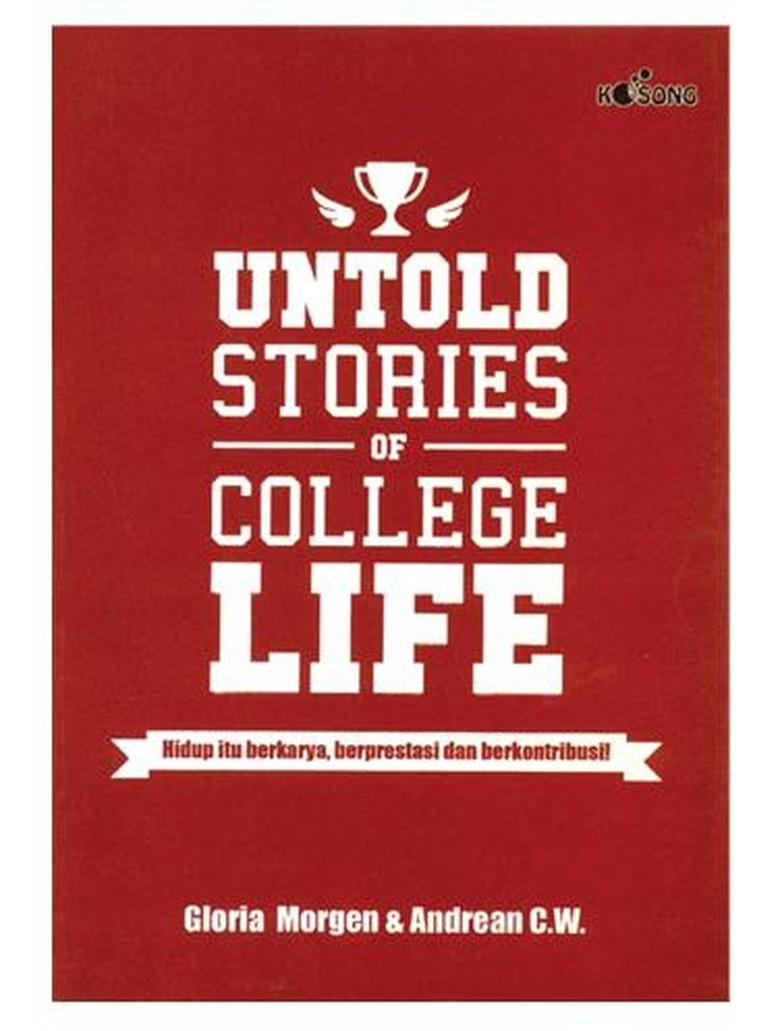 Salah Jurusan Kuliah, Cerita Gloria Morgen di Buku Untold Stories of College Life
