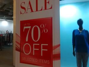 Marks & Spencer Diskon Hingga 70% di Mall Taman Anggrek
