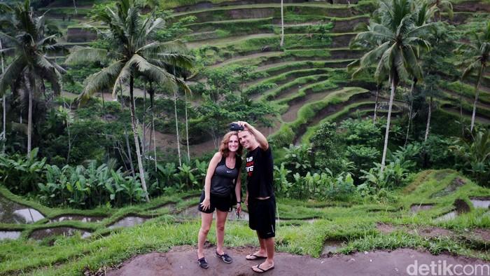 Wisatawan asing mengunjungi Bali. dikhy sasra/ilustrasi/detikfoto