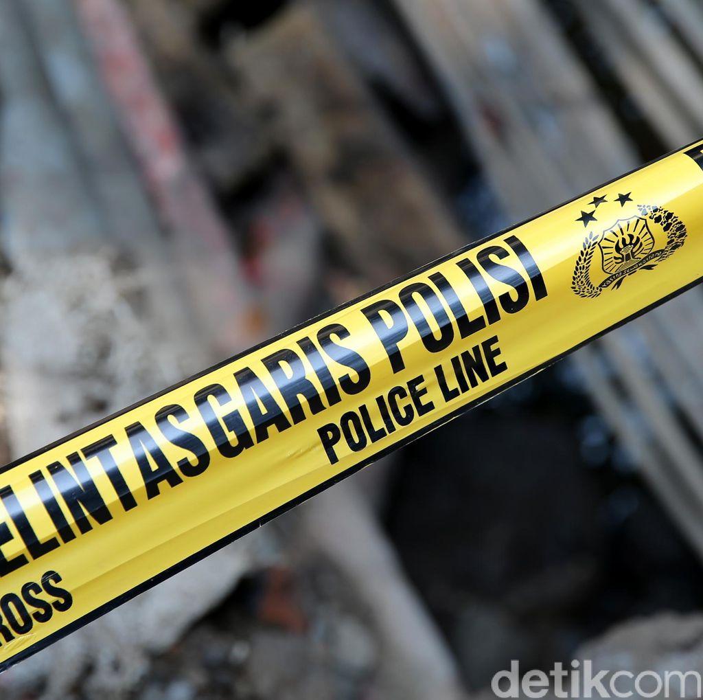 Rusuh Dekat Bawaslu, Pos Polisi di Sabang Jakpus Terbakar