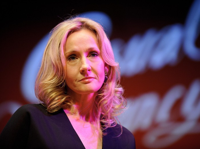 LONDON, ENGLAND - SEPTEMBER 27:  Author J.K. Rowling attends photocall ahead of her reading from The Casual Vacancy at the Queen Elizabeth Hall on September 27, 2012 in London, England.  (Photo by Ben Pruchnie/Getty Images)