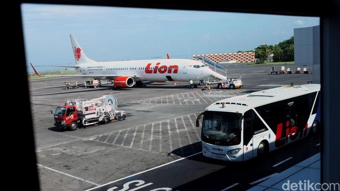Pesawat lion air.  dikhy sasra/ilustrasi/detikfoto