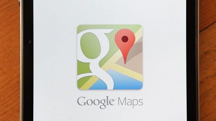 Ilustrasi Google Maps. (Foto: GettyImages)
