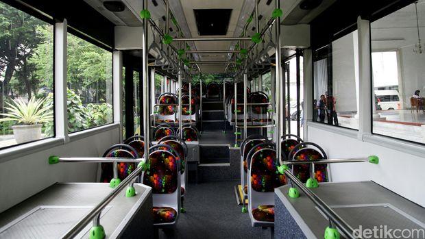Ilustrasi Interior Bus