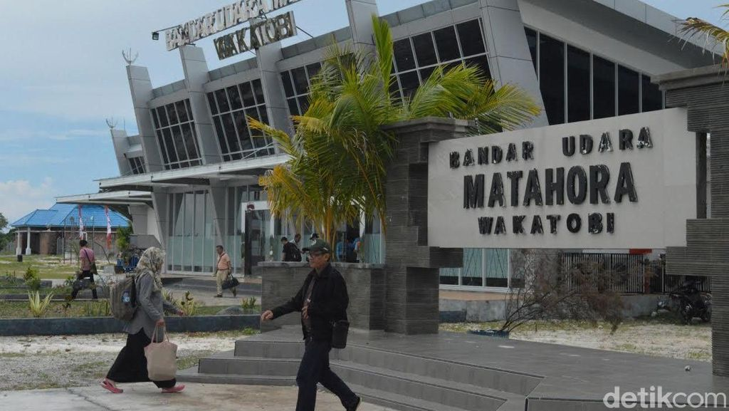 Navigasi Andal, Bandara Matahora Siap Sambut 500.000 Wisatawan