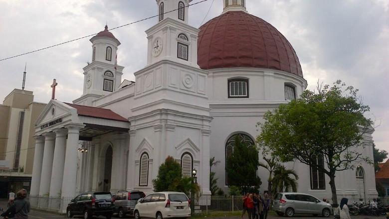 Gereja Blenduk (Angling Adhitya Purbaya/detikTravel)