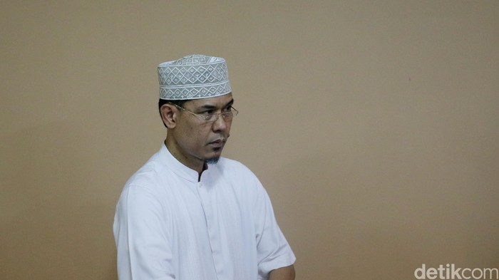 Munarman (Foto: Ari Saputra/detikcom)
