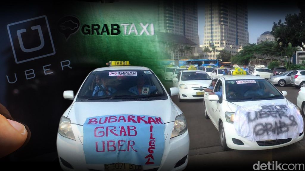 Kemenhub Beberkan Dosa-dosa Uber dan GrabCar