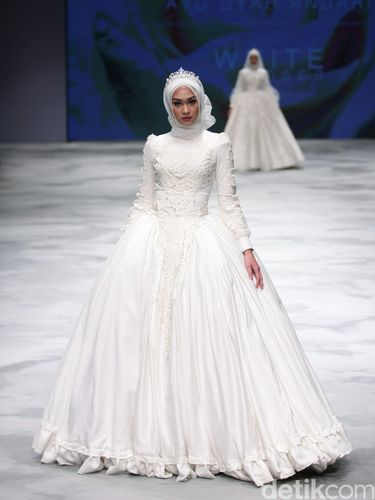 Foto Inspirasi Gaun Pengantin Muslim 2016 Dari 6 Desainer Indonesia