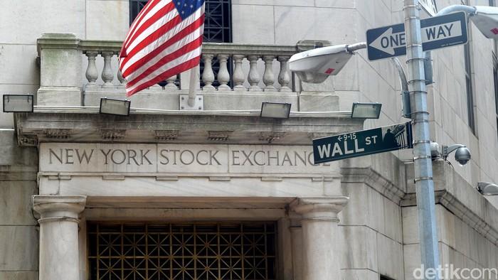 Gedung saham New York atau yang dikenal sebagai Bursa Saham Wall Street