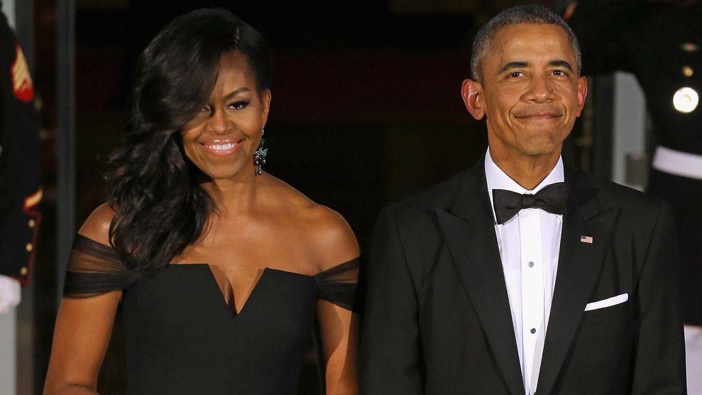 Termasuk Perhiasan dari Raja Saudi, Ini Hadiah Untuk Michelle Obama