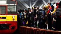 Stasiun Sudirman-Kemayoran Banjir, Perjalanan KA Alami Gangguan