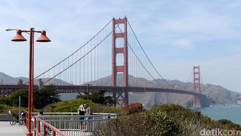 Jembatan Golden Gate (Ari Saputra/detikTravel)
