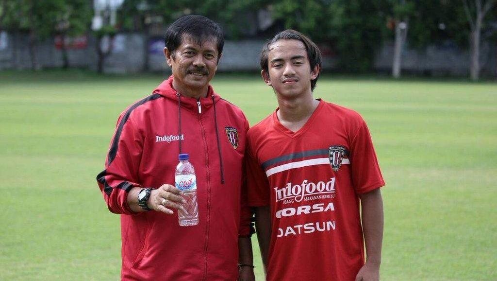 Bakal Trial ke Sporting Lisbon, Cucu B.J. Habibie Latihan Bareng Bali United