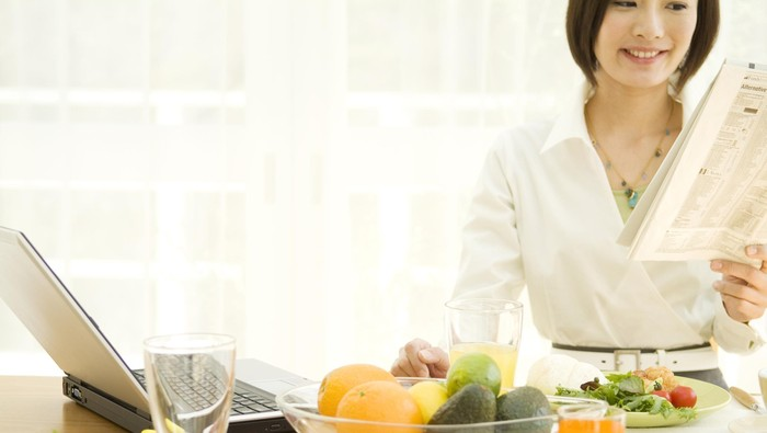 Menu sarapan sehat biar penuh energi sepanjang hari. Foto: thinkstock