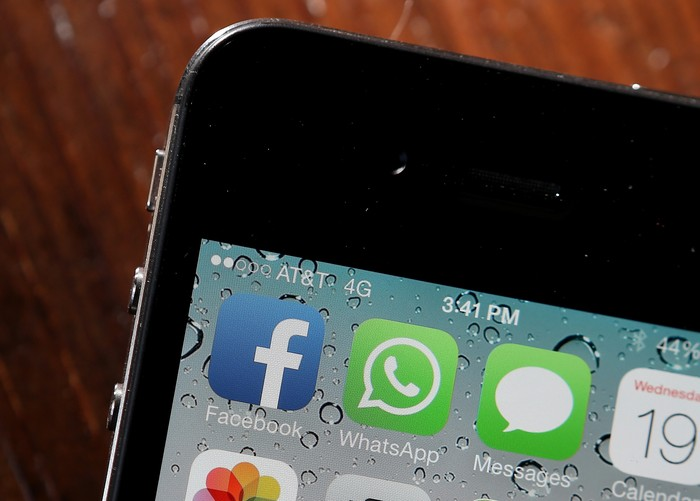 Aplikasi WhatsApp. Foto: GettyImages