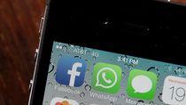 WhatsApp Salip Popularitas Facebook