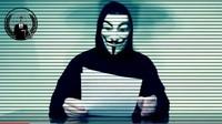 Kelompok Hacker Anonymous Beraksi di Tengah Protes George Floyd