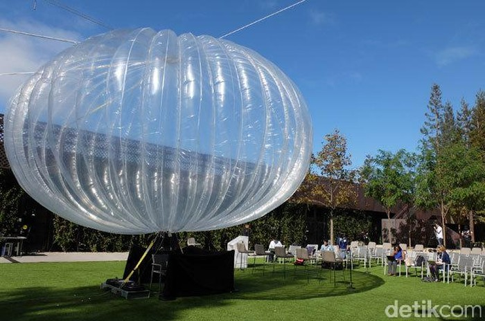 Balon Internet Google Project Loon