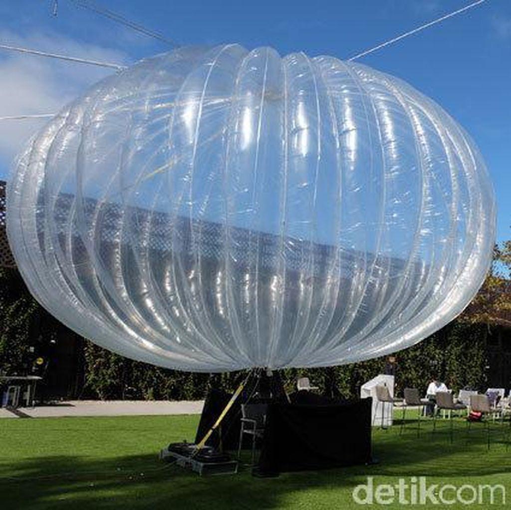 Balon Terbang Google Siap Sebarkan Internet di Kenya