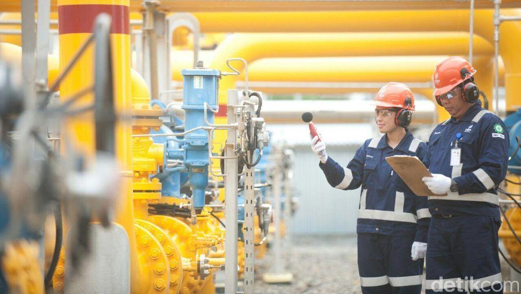 PGN Siap Pasok Kekurangan Gas ke PLTGU Cilegon