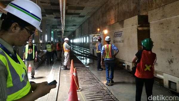 Proses Transfer Ilmu Pekerja Jepang ke Pekerja Indonesia di Proyek MRT
