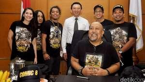 Keseruan Bintang Comic 8 di Balai Kota