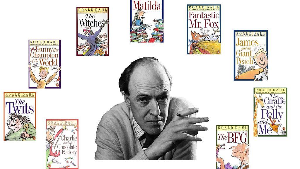 Penulis Buku Anak Roald Dahl Raih Medali Penghargaan