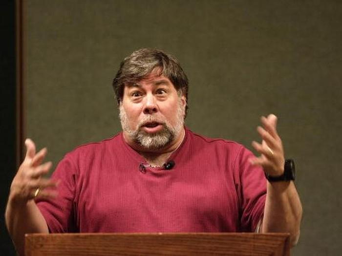 Steve Wozniak, salah satu pendiri Apple, yang kini tak yakin mobil otonom akan jadi nyata (Foto: Getty Images)