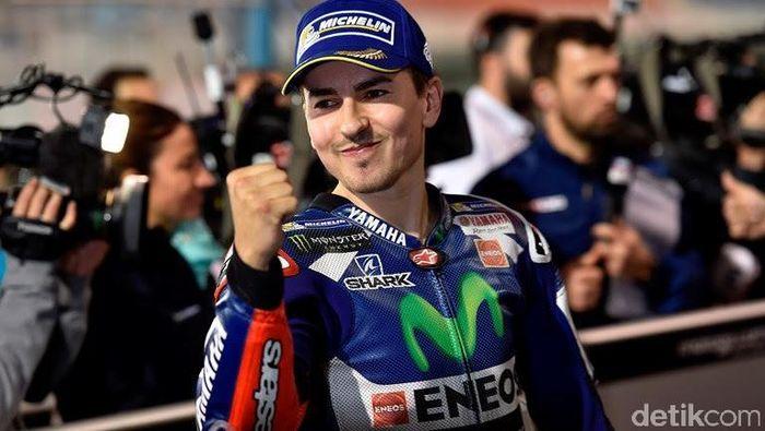 Jorge Lorenzo berjaya ketika masih menunggangi Yamaha. (Foto: Yamaha)