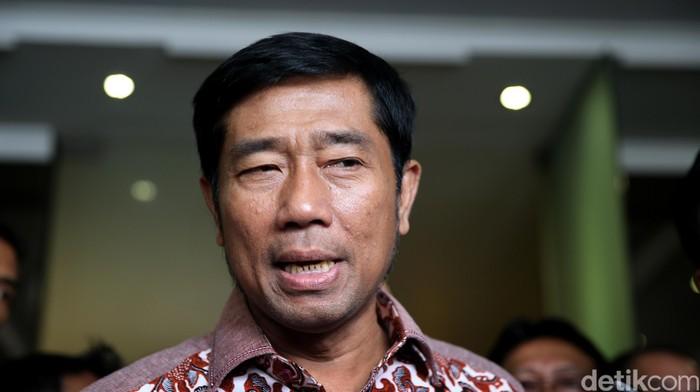 Abraham Lunggana (Lulung) di Tanah Abang, Jakarta Pusat,  Senin  (21/3/2016).