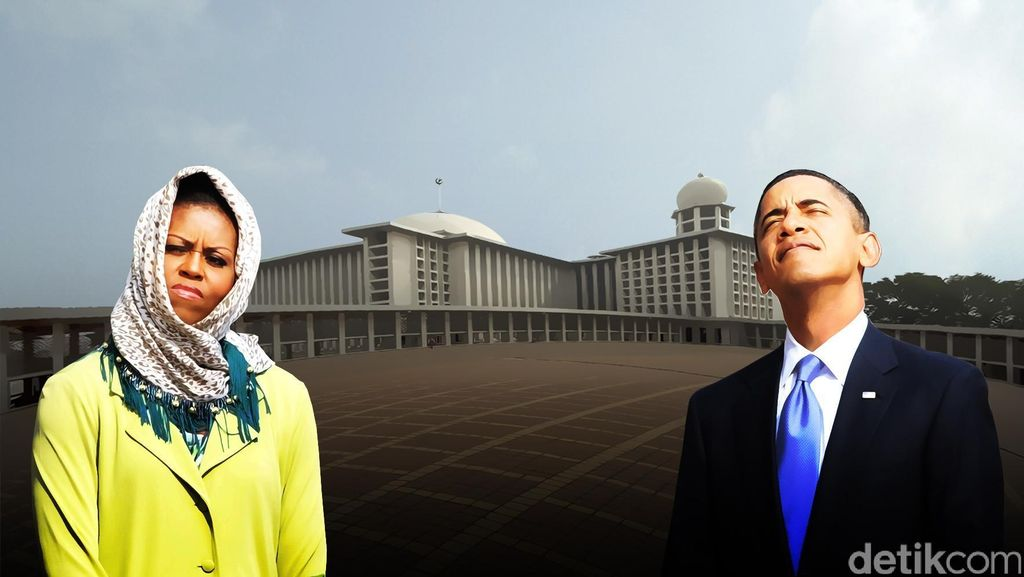 Setelah Obama, Jumlah Turis ke Istiqlal Melonjak