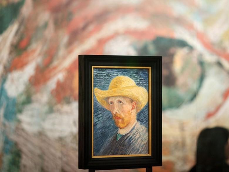 Surat Kontroversi Vincent Van Gogh Kini Bisa Dibaca Publik Amsterdam Foto: Foto: Getty Images