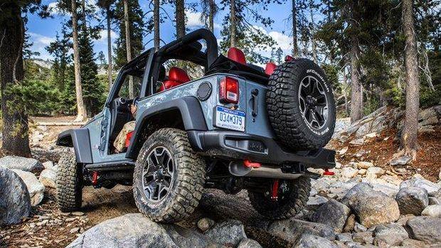 Konde di Jeep Wrangler