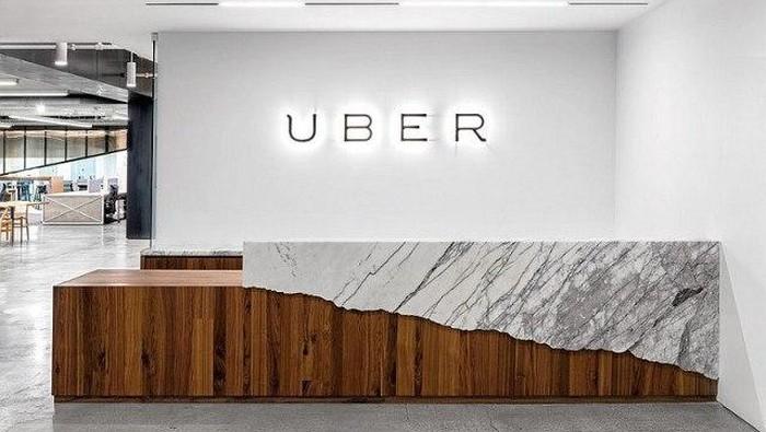 Penampakan kantor Uber. Foto: SFChronicle