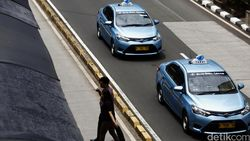 Ada Aksi 22 Mei, Taksi Bluebird Tetap Beroperasi 24 Jam