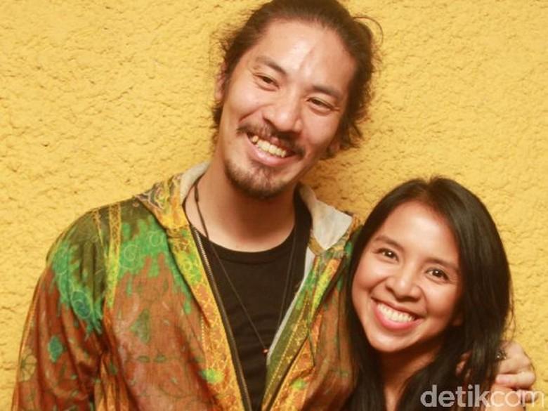 Arina Mocca & Hiroaki Kato Foto: Gus Mun/detikHOT