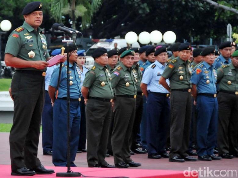 Jenderal Gatot ke Prajurit Kostrad: TNI Harus Netral!