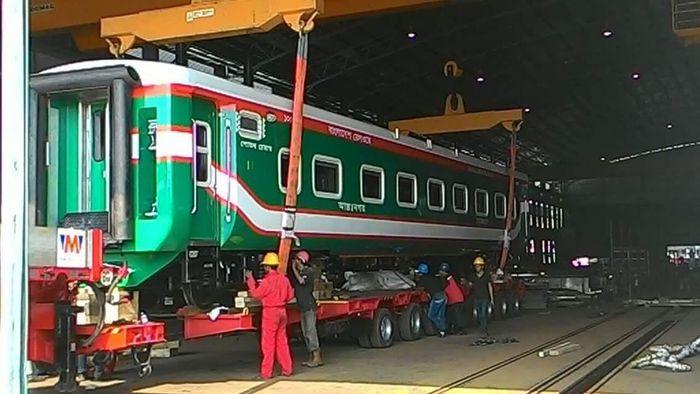 Hasil gambar untuk kereta api bangladesh buatan inka