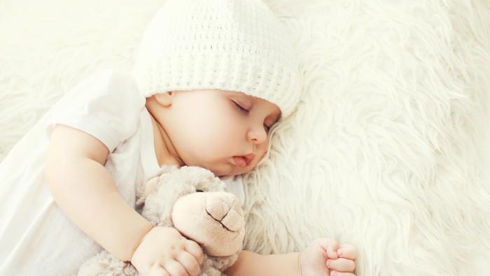 Ilustrasi bayi tidur pulas. Foto: thinkstock