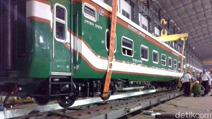 Kereta buatan PT INKA untuk ekspor/Foto: Dok. PT INKA