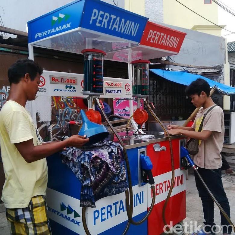 Salah stau gerai Pertamini. Foto: Dewi Rachmat Kusuma