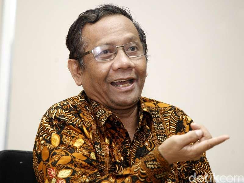 Giliran Mahfud Md Menolak Jokowi