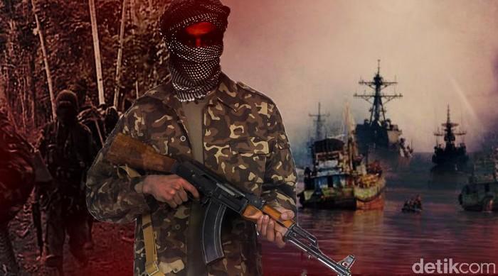 Ilustrasi Abu Sayyaf Sandera Kapal RI di Filipina