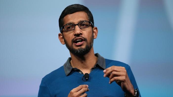 Sundar Pichai, CEO Google. Foto: GettyImages
