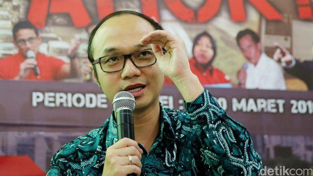 Direktur Eksekutif Charta Politika Yunarto Wijaya